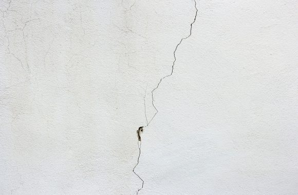 Drywall Fix Crack Somebody Was In The Attic and Stepped On The Ceiling